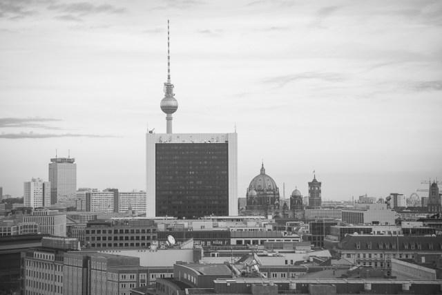 Панорама города, Берлин, 2012