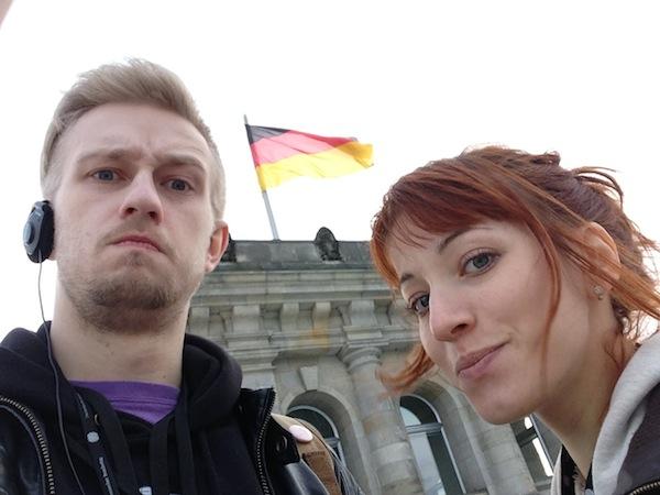 Мы на Рейхстаге, достопримечательности Берлина