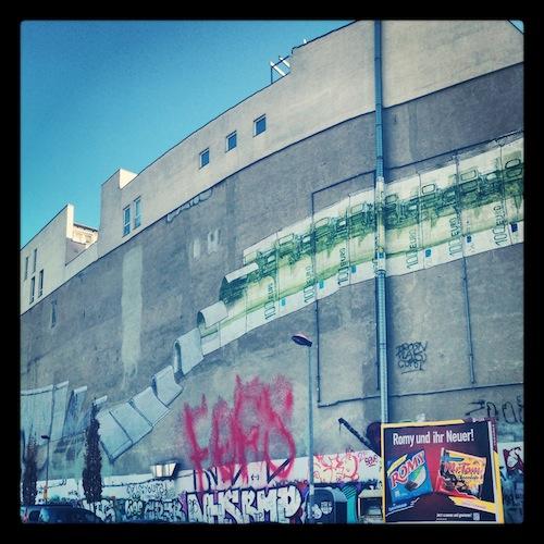 Берлинский стритарт, достопримечательности Берлина