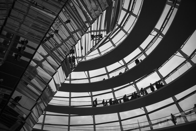 Купол Рейхстага, достопримечательности Берлина
