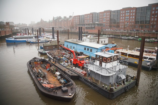 Пристань. Гамбург, 2012