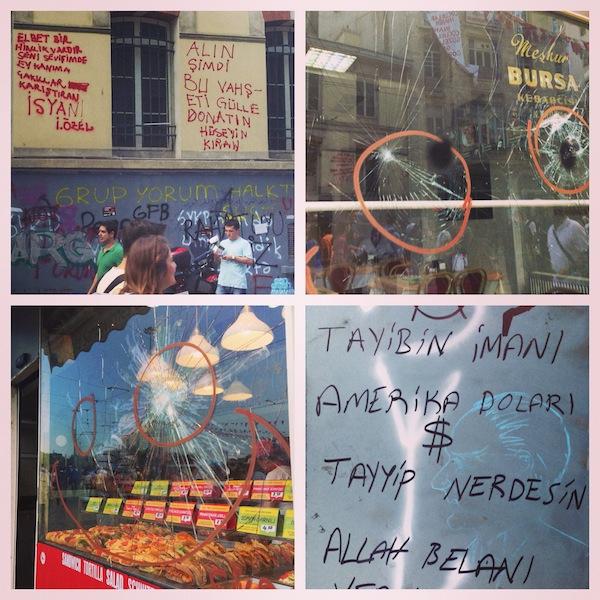 Беспорядки на площади Таксим, Стамбул