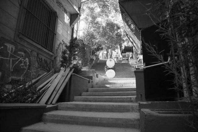 Лестница к башне Галата, Стамбул