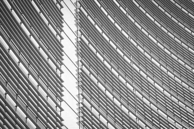 Фасад отеля Хайят. Екатеринбург, февраль 2013