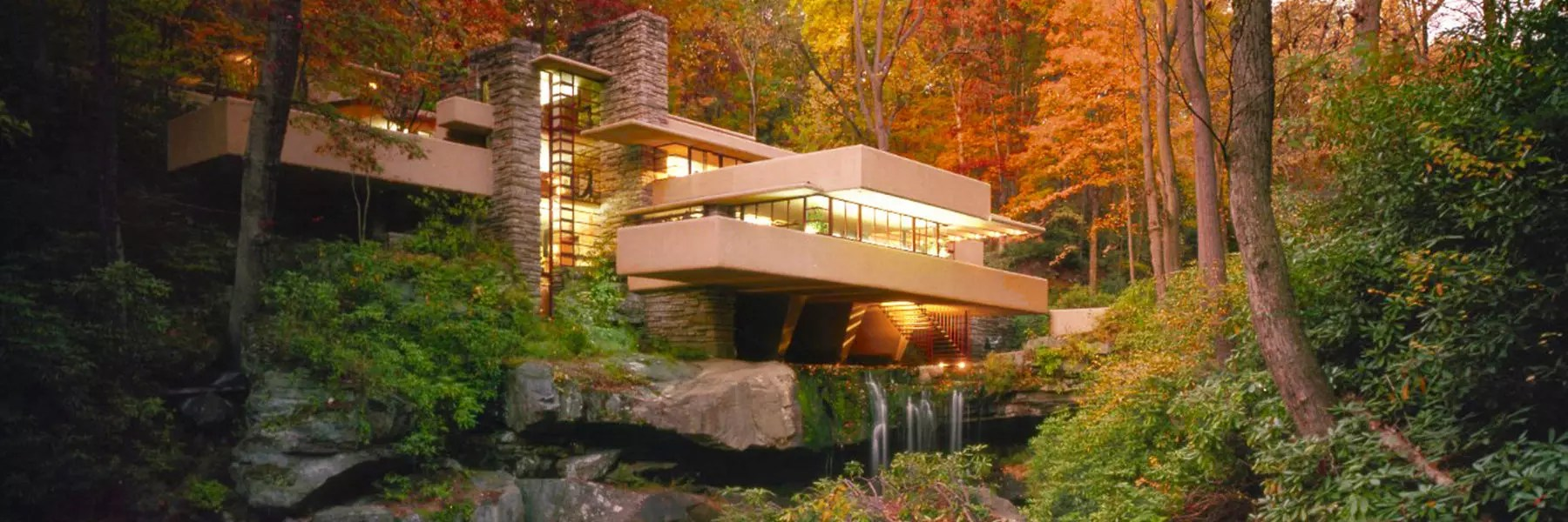 Fall Evening Wallpapers Laurel Highlands Pa Frank Lloyd Wright Fallingwater Tours