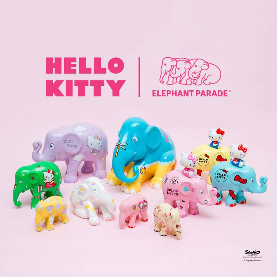 Hello Kitty Küche Toys R Us Elephant Parade Ep 10 Cm Hello Kitty Pastel Scandi Limited Edition