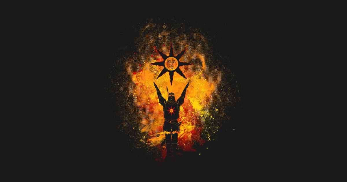 Girl Tshirts Hd Wallpaper Praise The Sun Art Dark Souls T Shirt Teepublic