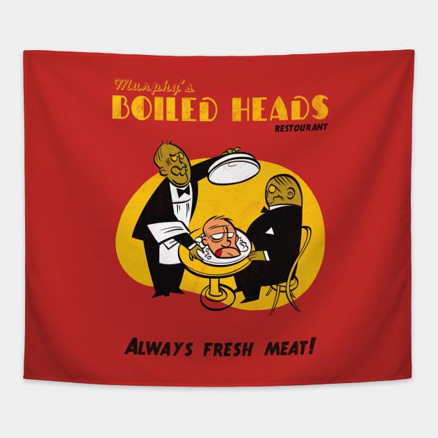Zombie Lunch - Propaganda - Tapestry TeePublic