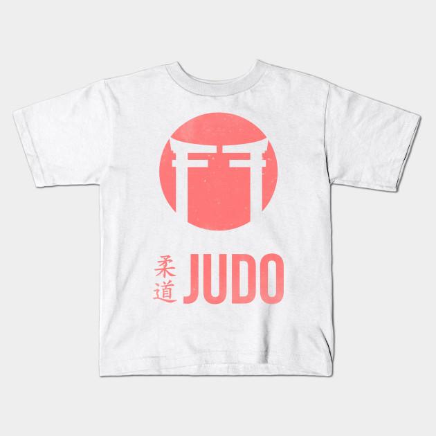 Judo Under Gi - Judo - Kids T-Shirt TeePublic