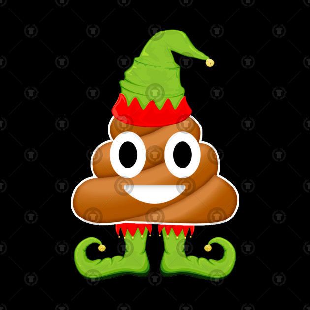 Funny Elf Poop Meme Emoji Christmas Gift For Kids - Funny Elf Poop