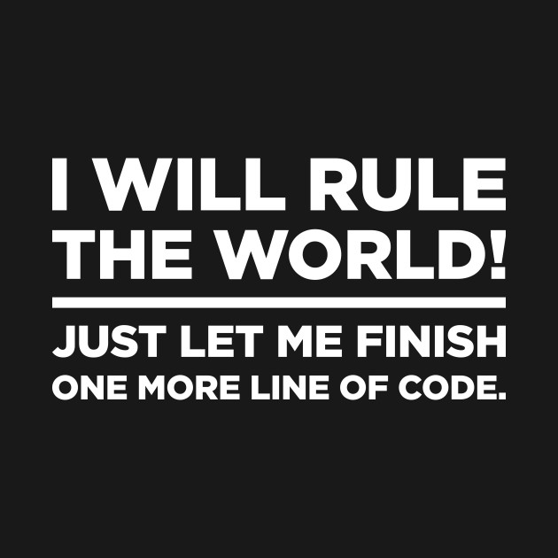 Funny CS Software Developer Quote - Software Developer - T-Shirt - software quote