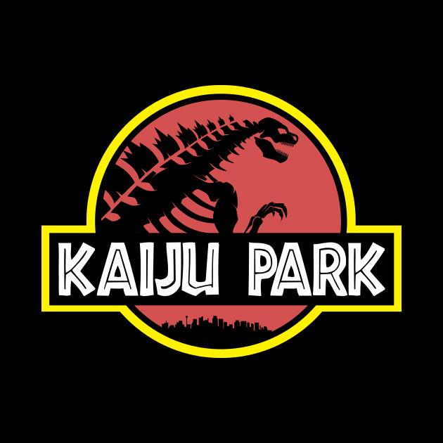 Kaiju Park - Godzilla - Tapestry TeePublic