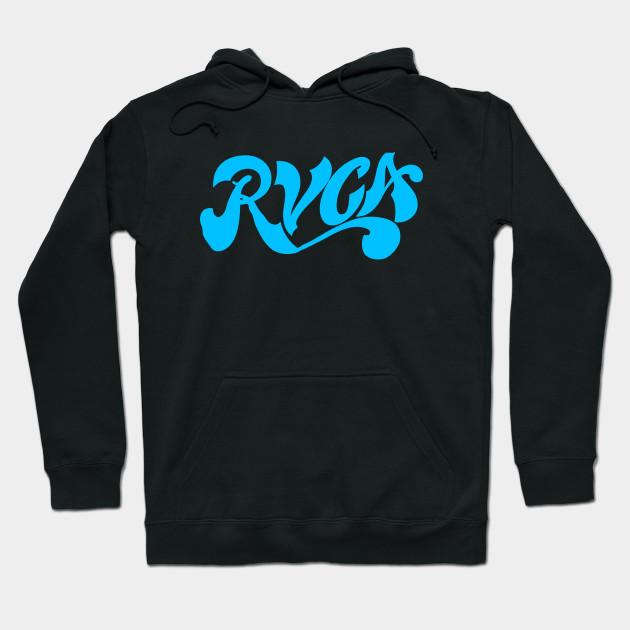 RVCA VA Logo - Best Sellers - Hoodie TeePublic