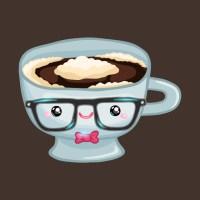 Cute coffee cup - Coffee - T-Shirt | TeePublic