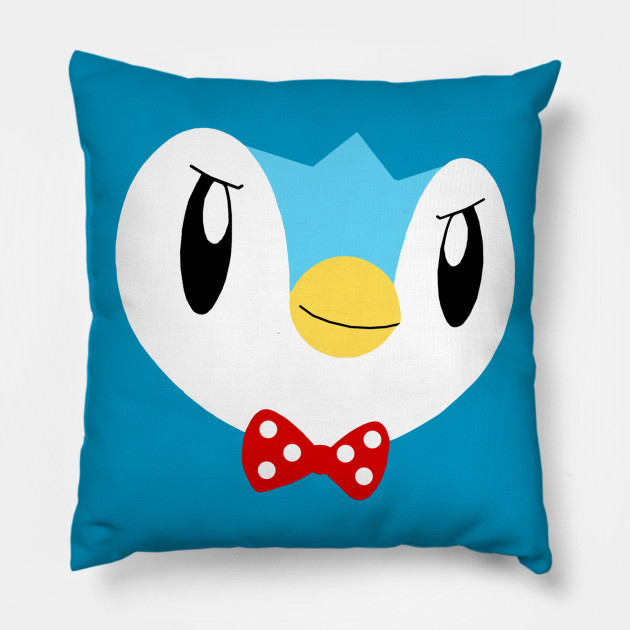 Piplup - Piplup - Pillow TeePublic