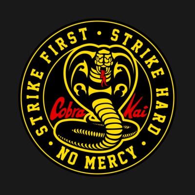 Cobra Kai Never Dies - Cobra Kai - T-Shirt | TeePublic