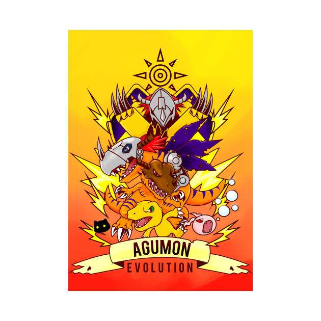 digimon agumon evolution - Patamon - Phone Case TeePublic