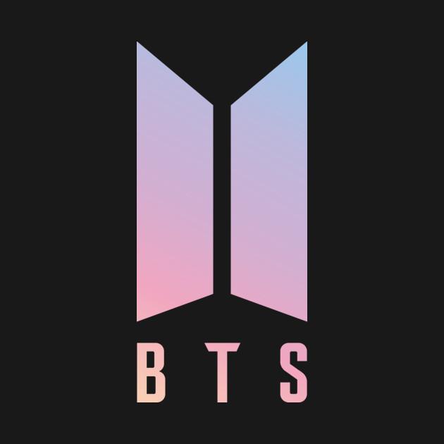 Black And Pink Flower Wallpaper Bts New Logo Kpop Onesie Teepublic