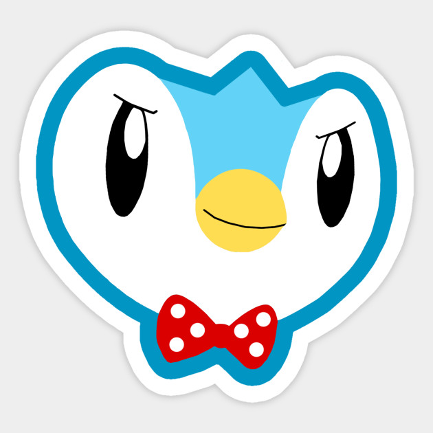 Piplup - Piplup - Sticker TeePublic