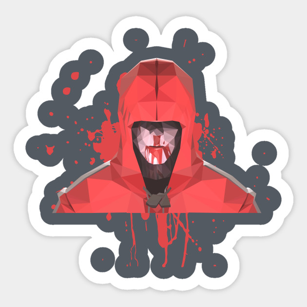 Low Poly Headhunter Scout - Tf2 - Sticker TeePublic