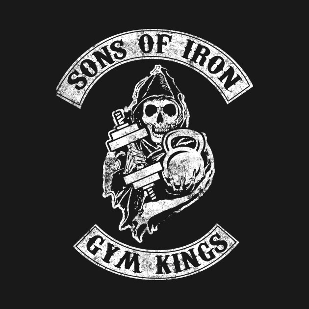 Phone Wallpaper Quote Maker Sons Of Iron Gym Kings Bodybuilding Gym T Shirt