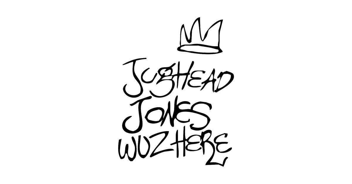 Riverdale Wallpaper Quotes Jughead Jones Wuz Here Tee Riverdale T Shirt Teepublic