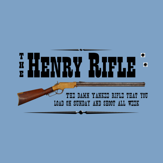 Henry Rifle - Henry Rifle - Onesie TeePublic