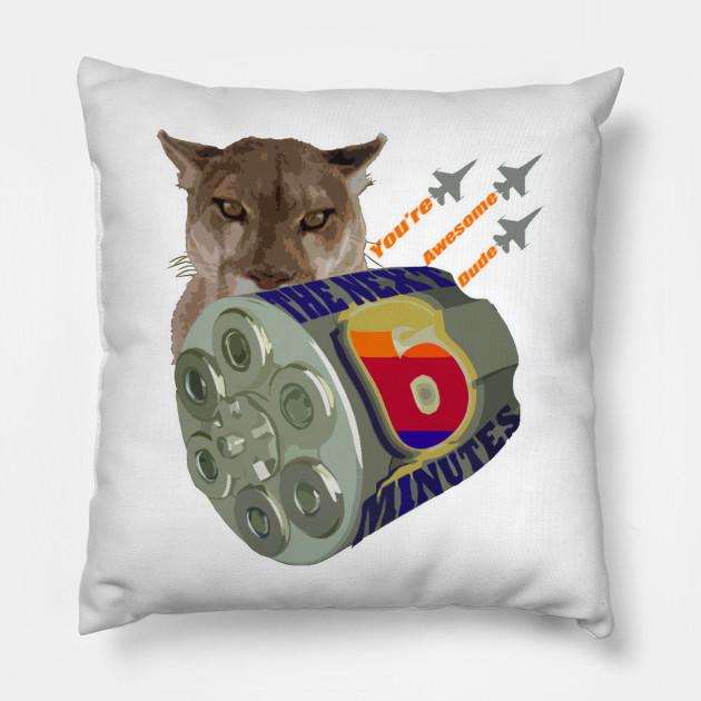 Sixy - Awesome - Pillow TeePublic