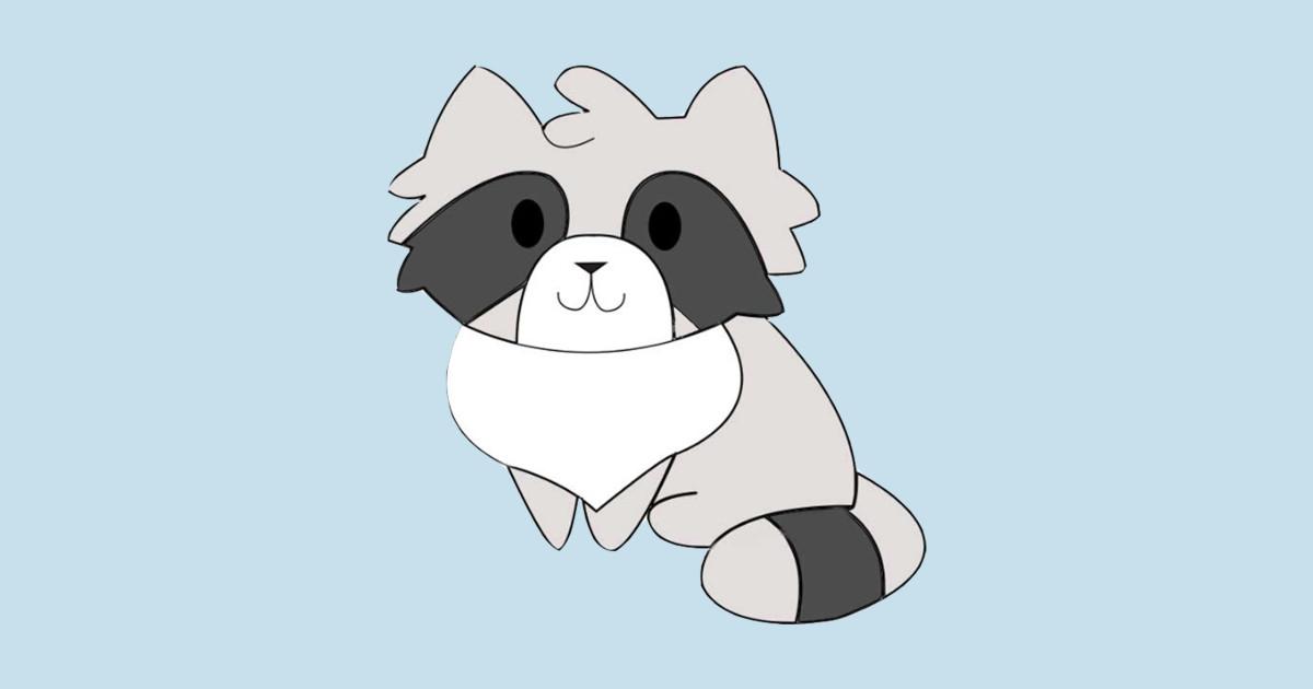 Chibi Raccoon Raccoon T Shirt Teepublic