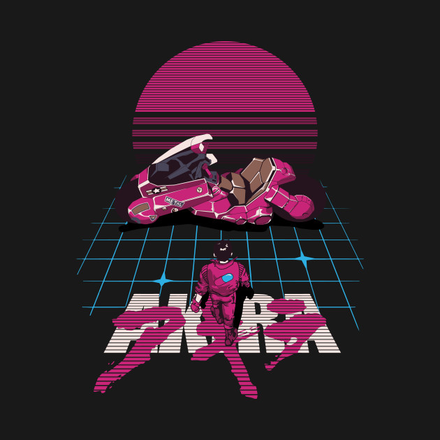 Black Aesthetic Wallpaper Synthwave Akira Akira T Shirt Teepublic