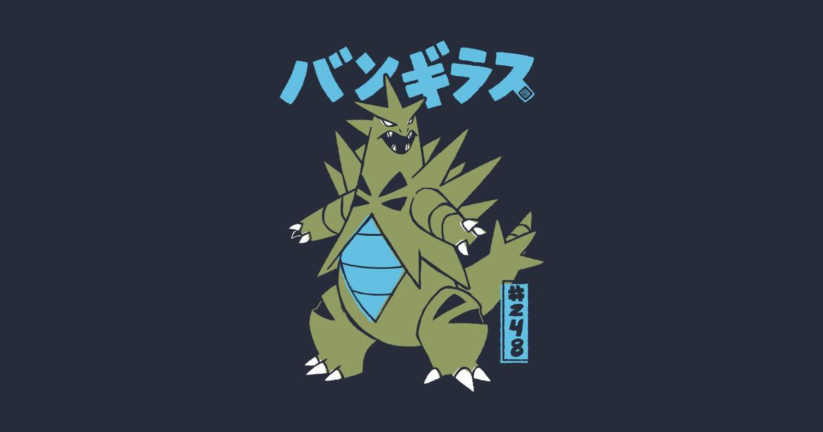 Tyranitar T-Shirts TeePublic