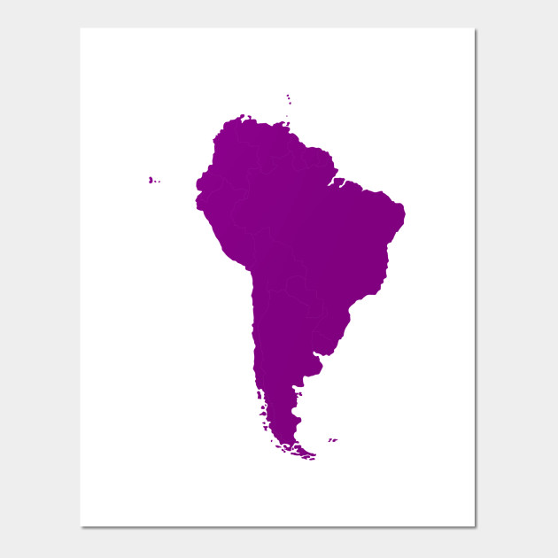 LIMITED EDITION Exclusive South American Continent - South American