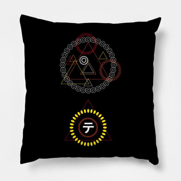 Aesthetics colorful Geometric design - Geometrical Designs - Pillow
