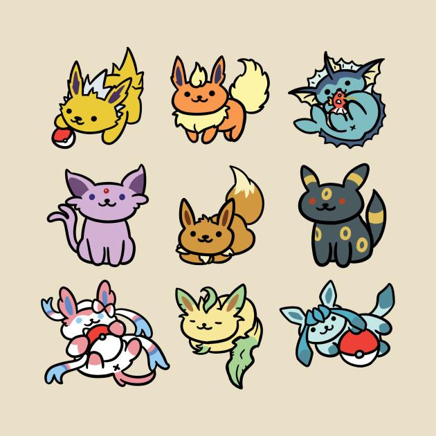 Cute Wallpapers For Phone Cases Eevee Atsume Pokemon Eeveelutions Neko Atsume