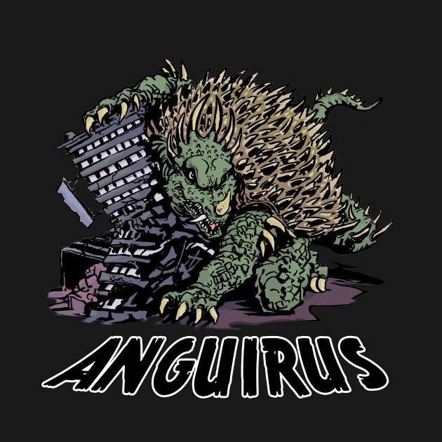 ANGUIRUS - Kaiju - Kids T-Shirt TeePublic