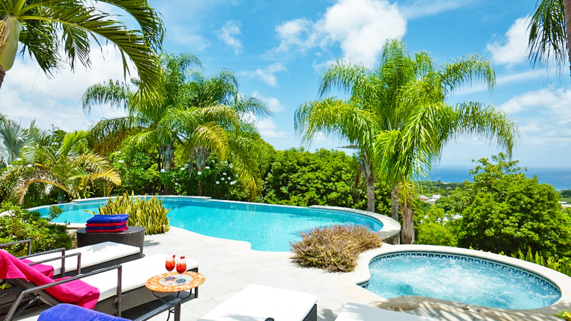Pool And Jacuzzi Tortuga House Property For Sale In Barbados Terra Luxury