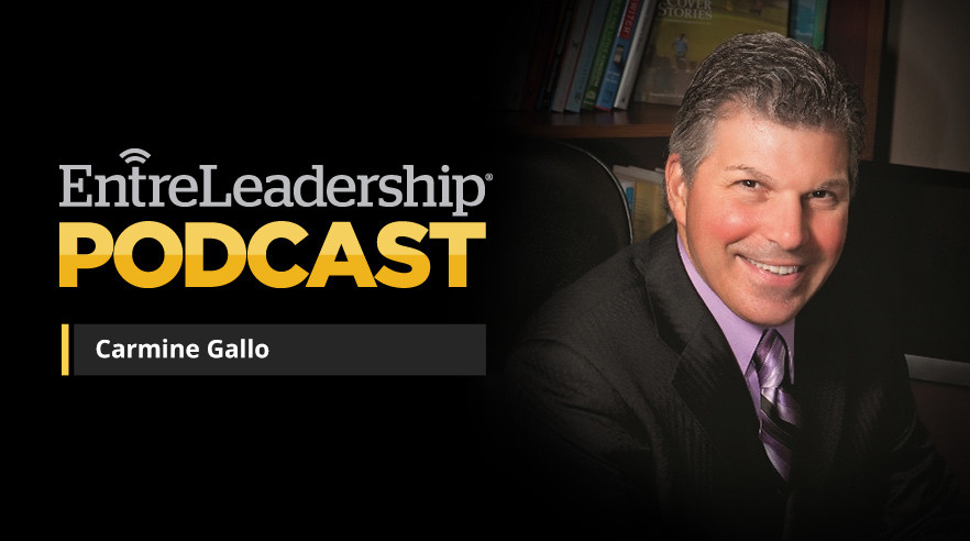 83 Carmine Gallo\u2014How to Talk Like TED EntreLeadership