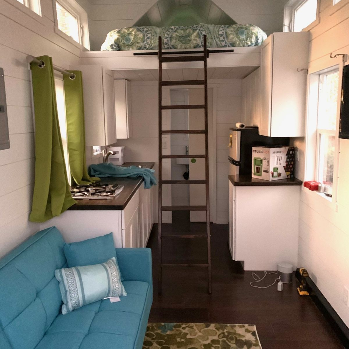 8x24 Tiny Home On Wheels New And Amazing Tiny House For Sale In Salt Lake City Utah Tiny House Listings