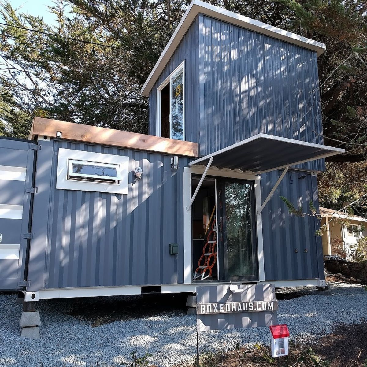 Haus Container Boxed Haus Tiny House For Sale In Scotts Valley California Tiny