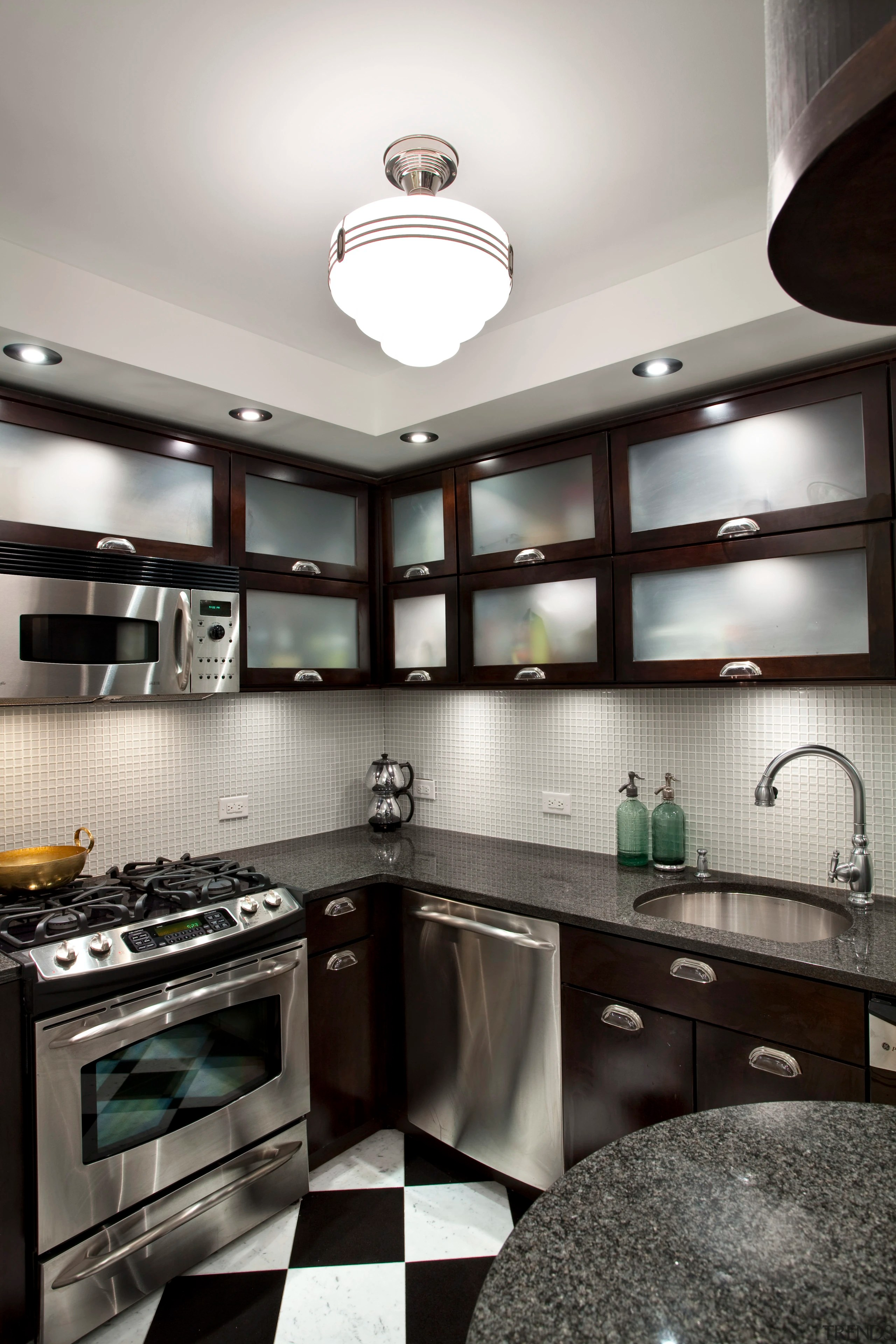 Art Deco Design Cuisine View Of Kitchen In Art Deco Styled Gallery 4 Trends