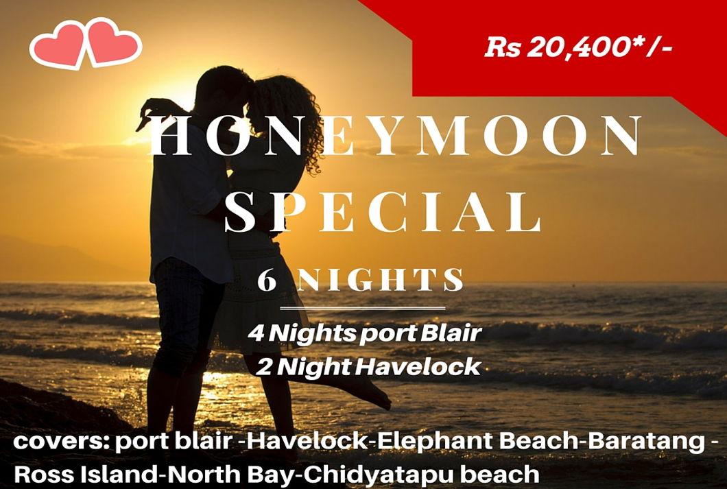 Honeymoon Special -6N/7D