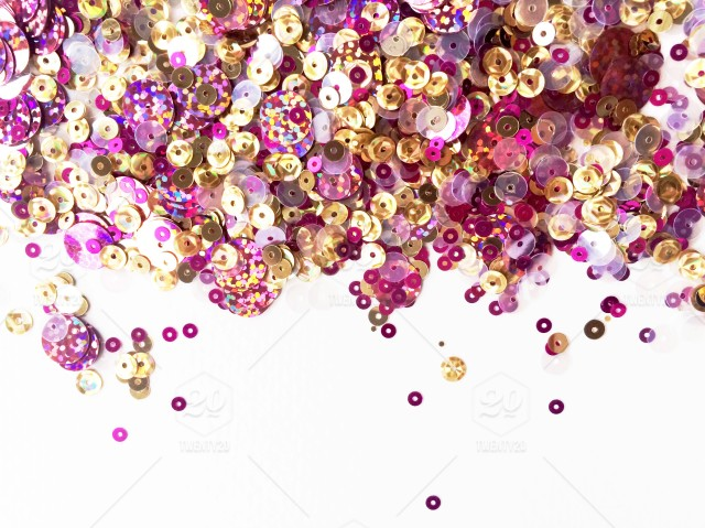 I Am A Simple Girl Wallpaper Landscape Orientation Of Sparkling Pink And Gold Glitter