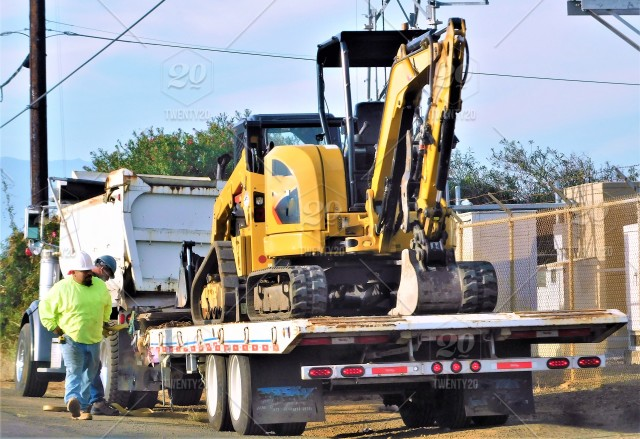 Transportation and Logistics of very BIG Construction Equipment on a
