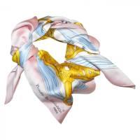 Silk Scarf VINTAGE pink - 4222404