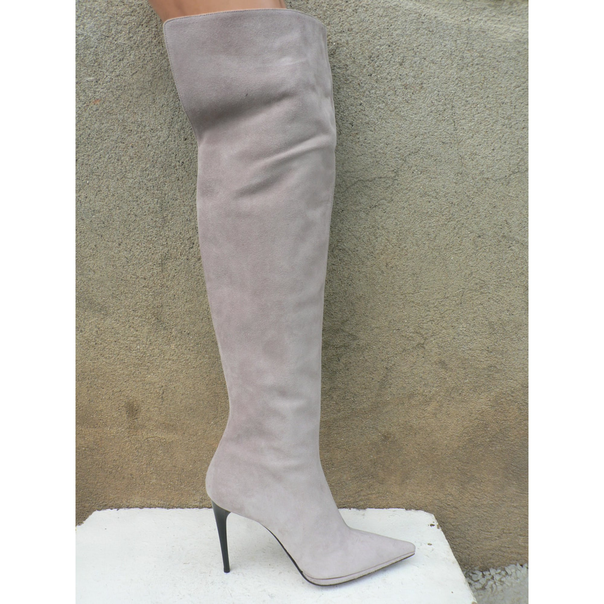 Le Silla Boots Thigh High Boots Le Silla 41 Purple 5618570