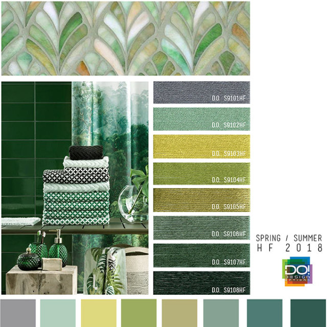 Trendkleuren Interieur Trends: Spring/summer - Home Furnishings Interiors Color S