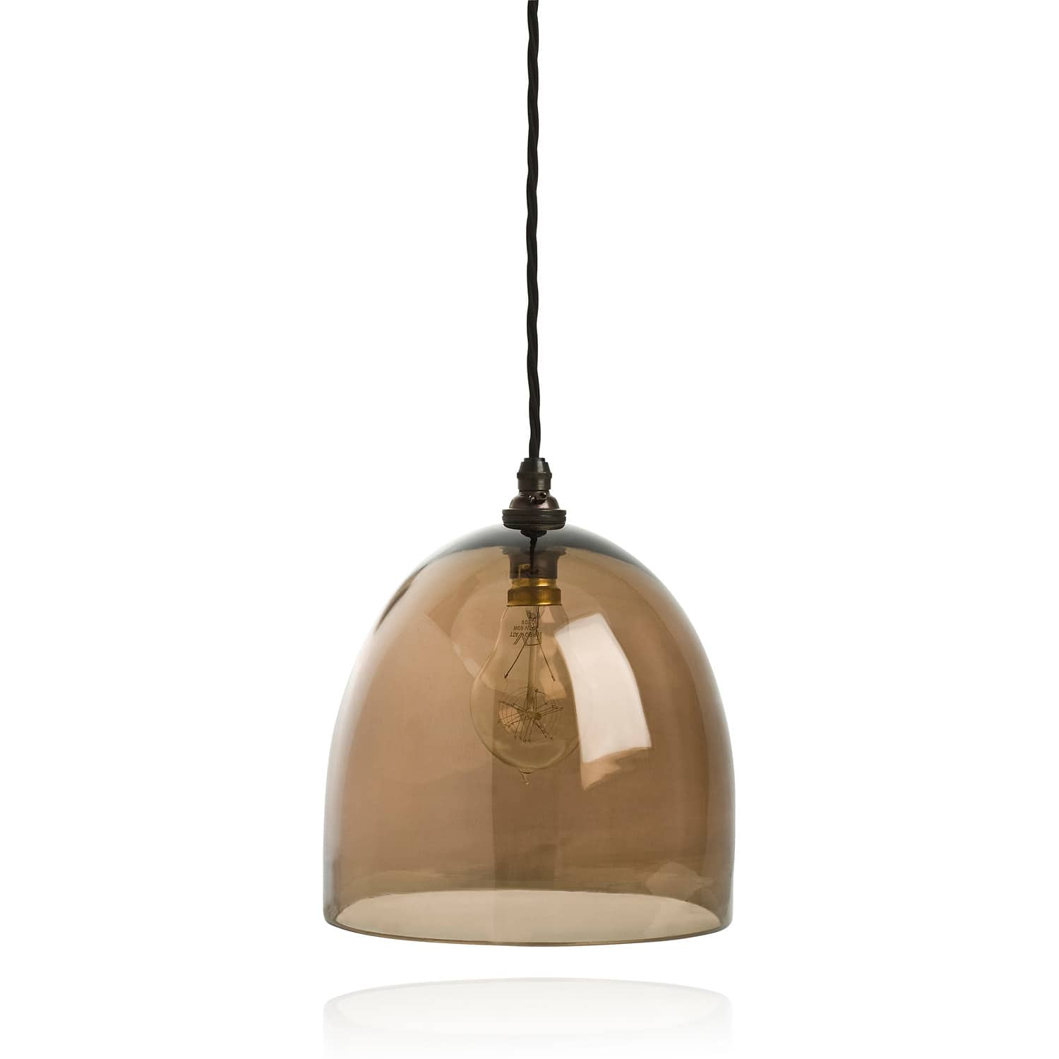 Glass Lamp Bowl Bowl Shape Pendant Lamp By Curiousa Curiousa