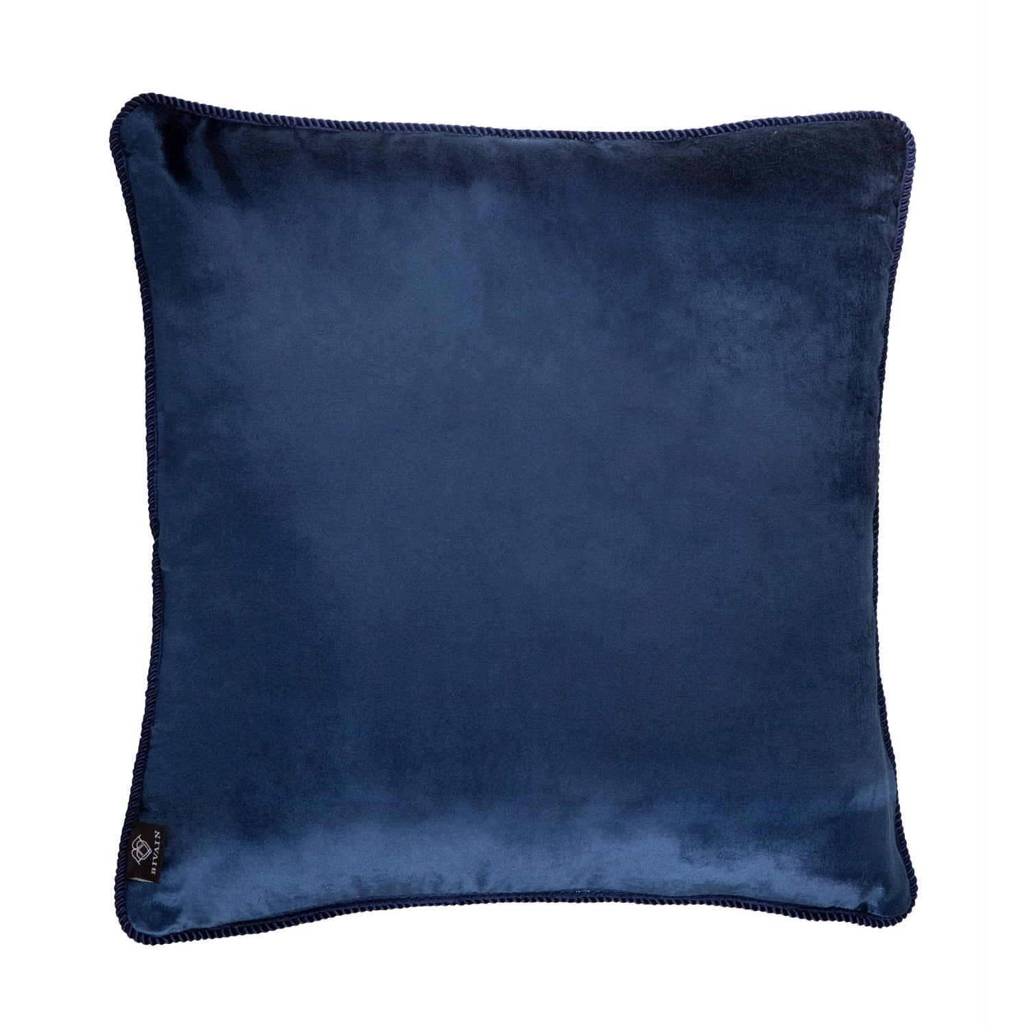 Blue Velvet Cushion Navy Blue Velvet Cushion Bivain Wolf And Badger