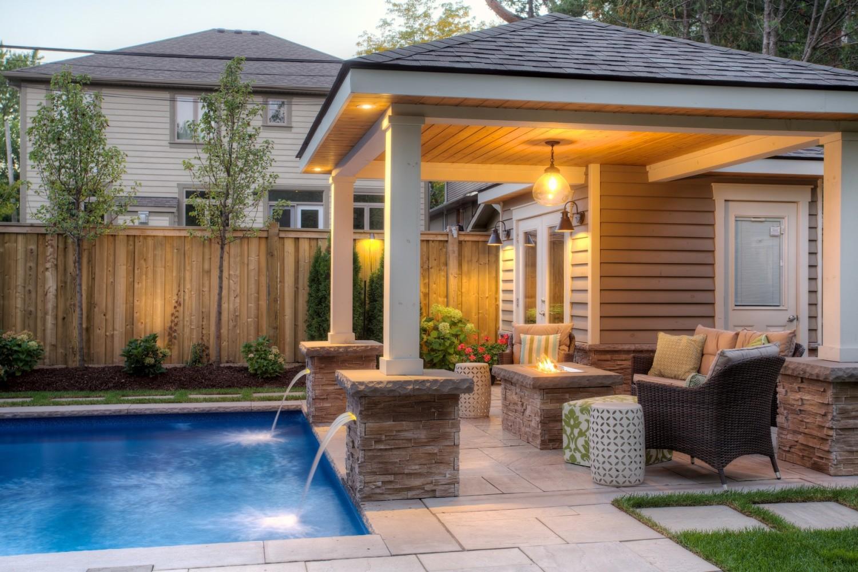 Pool cabanas & sheds