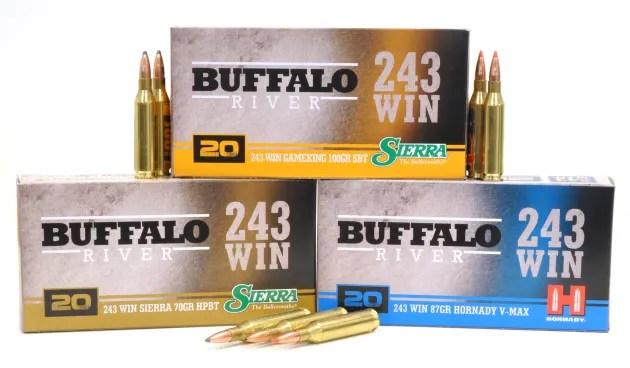 NEW Buffalo River 243 Ammunition - Sporting Shooter